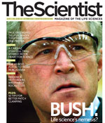 Cover of The Scientist, Oct. 2006