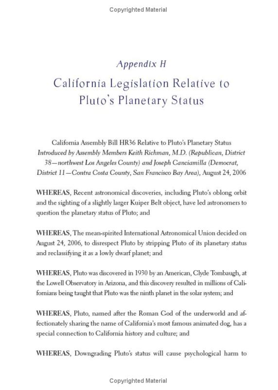 Pluto legislation: Texas (p. 1/2)