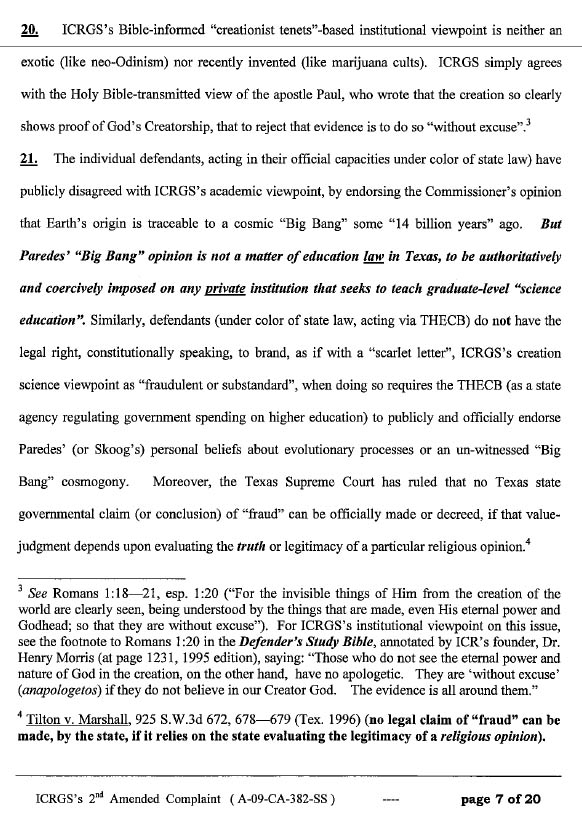 page 7 of ICR's amended complaint