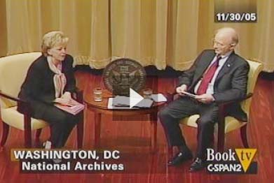 Lynne Cheney at the National Archives, on BookTV